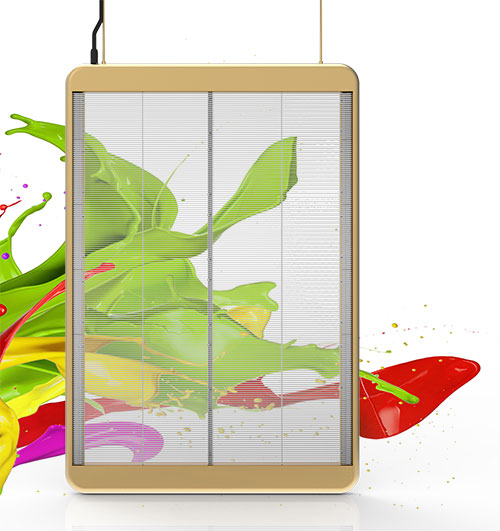 JCVISION Transparent LED Display--A Series
